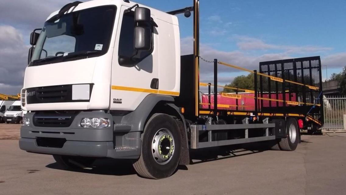 Forktruck transport